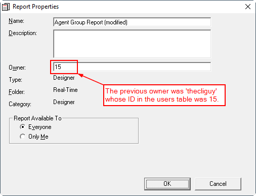 Avaya CMS - Deletion of a Designer Report Owner · The CLI Guy